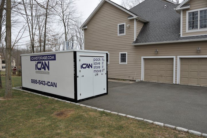 Portable Storage Containers New York New Jersey iCan Storage