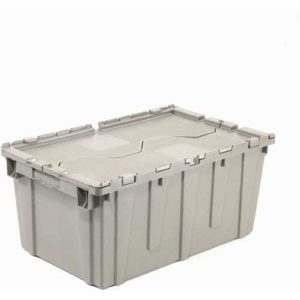 single closed plastic moving box