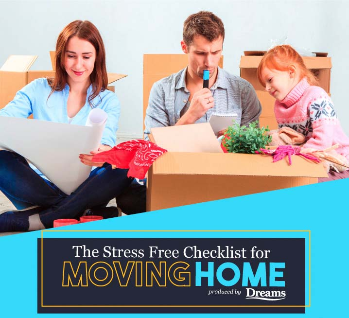 The Stress Free Checklist For Moving
