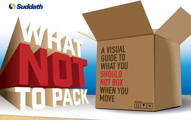 What Not to Pack in Moving Boxes