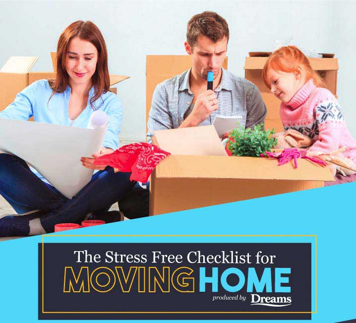A Stress Free Checklist For Moving