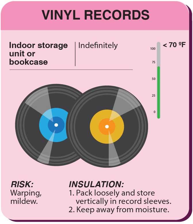 Storing Vinyl Records